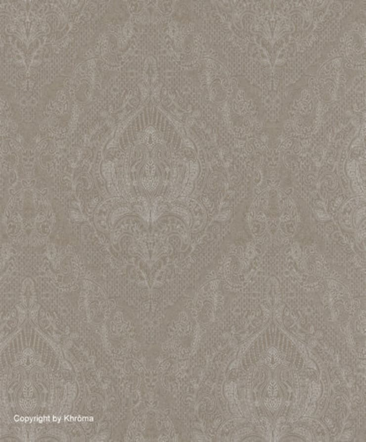 PAPEL PINTADO KHARAT LINEN: Paredes y suelos de estilo  de Demarques.es