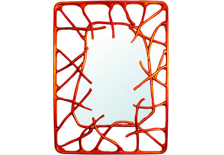 Mirror Estrella:  Living room by Adonis Pauli HOME JEWELS