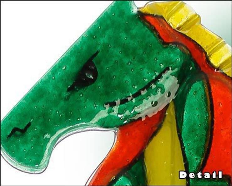 L'Inganno - Scultura in vetro:  in stile  di The V-Studio , Moderno