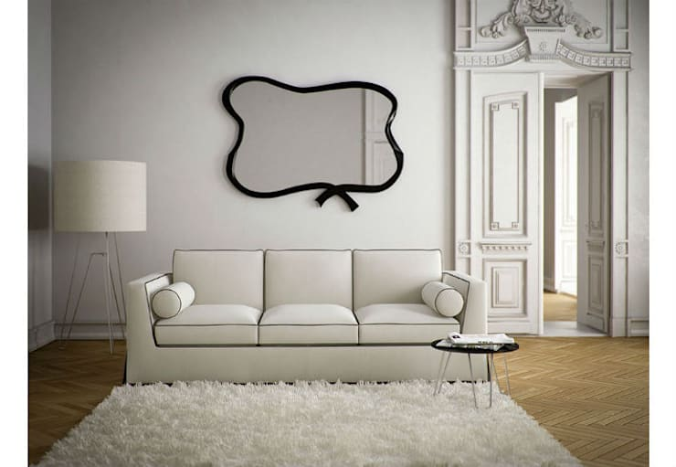 Mirror Belle Epoque:  Living room by Adonis Pauli HOME JEWELS