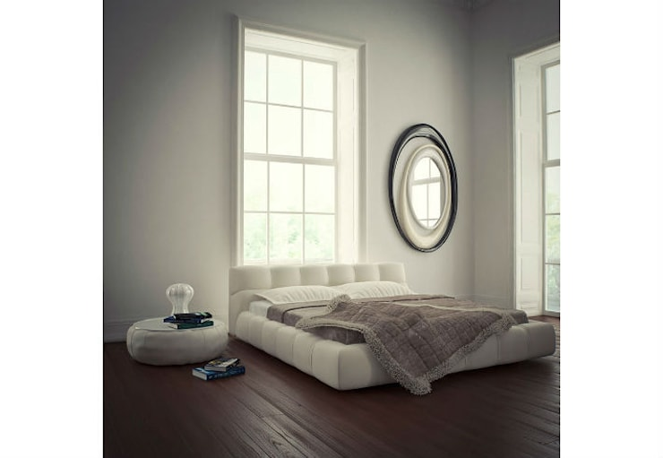 Mirror Full Circle:  Living room by Adonis Pauli HOME JEWELS