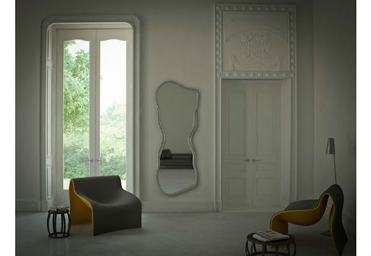 Mirror Curves:  Living room by Adonis Pauli HOME JEWELS