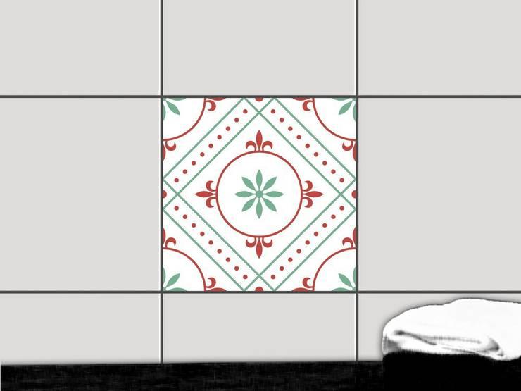 Fliesenaufkleber - Ornament Light 4:  Wände & Boden von creatisto GmbH