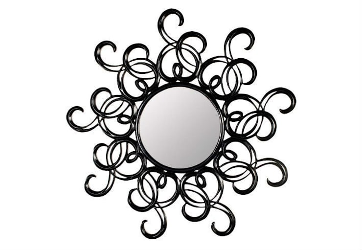 Mirror Sun Rays:  Living room by Adonis Pauli HOME JEWELS