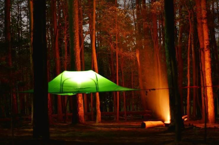 Projekty,  Ogród zaprojektowane przez Tentsile