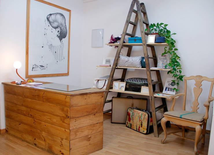 El espacio: Estudios y despachos de estilo ecléctico de La Manual