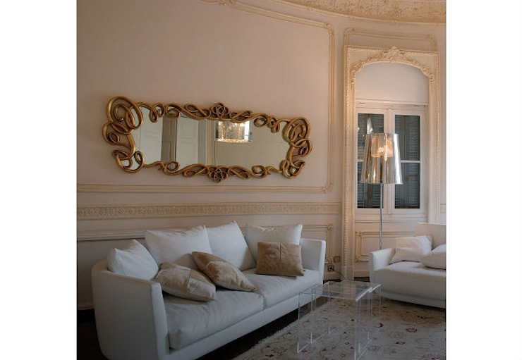Mirror Versailles:  Living room by Adonis Pauli HOME JEWELS