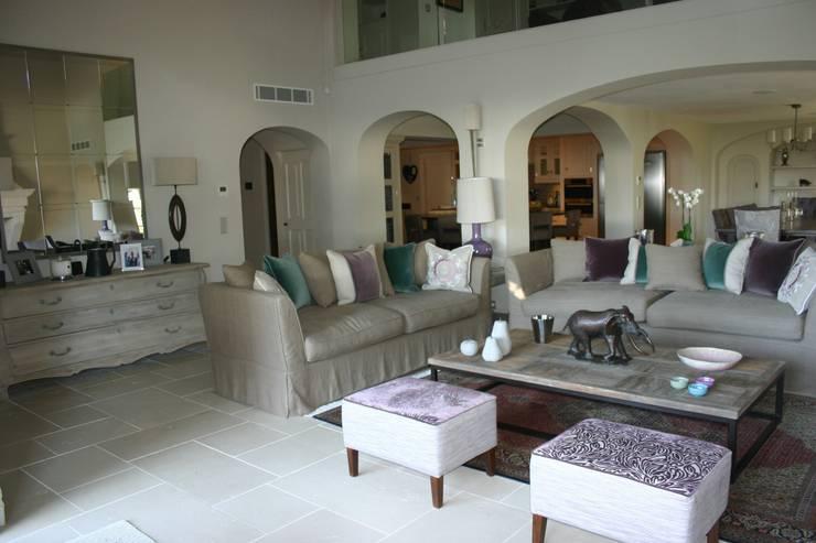 Living Room:  Dining room by Rachel Angel Design