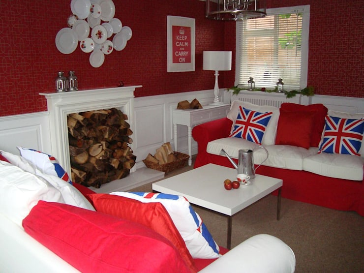 60 Minute Makeovers Wall PAnelling With Colin & Justin..:  Walls & flooring by The UK's Leading Wall Panelling Experts Team