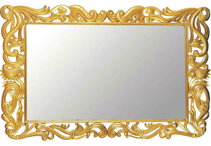Mirror Firenze:  Living room by Adonis Pauli HOME JEWELS