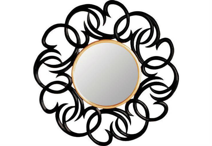 Mirror Luminous:  Living room by Adonis Pauli HOME JEWELS