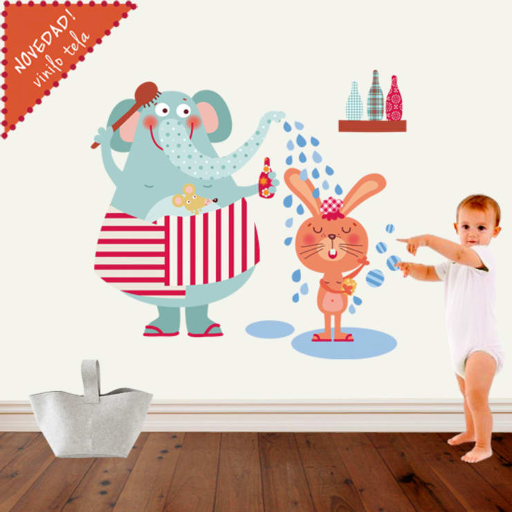 Vinilos infantiles de tela:  de estilo  de Decohappy