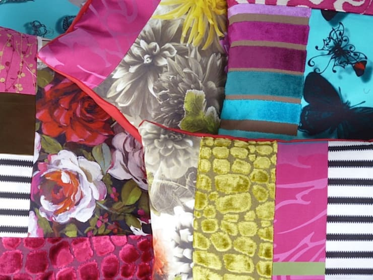 2014 collection of Suzy Newton home furnishings:  Living room by Suzy Newton Ltd.