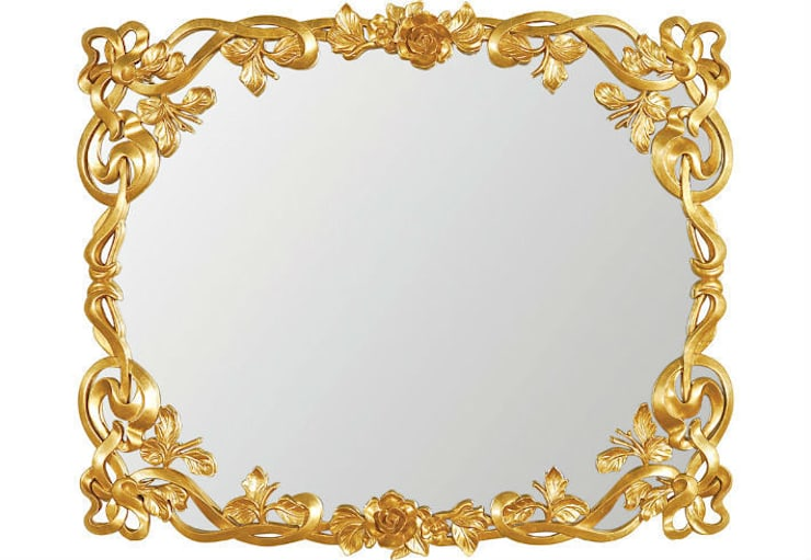 Mirror Boudoir:  Living room by Adonis Pauli HOME JEWELS