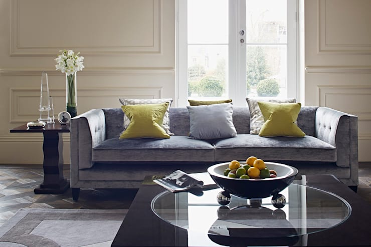 The Townhouse Collection:  Living room by LuxDeco