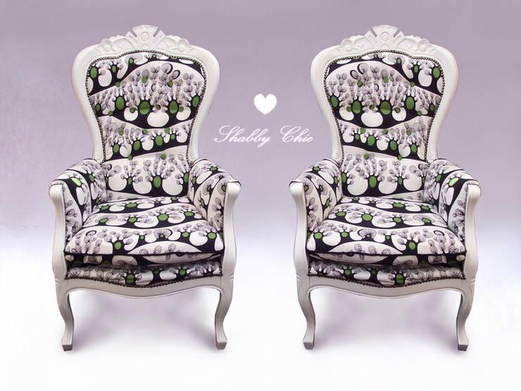 Salas de estilo  por Anne`S Shabby Chic
