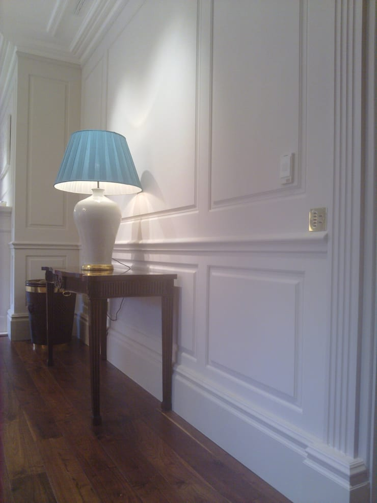 Bellefield Hall Wentworth:  Walls & flooring by The UK's Leading Wall Panelling Experts Team