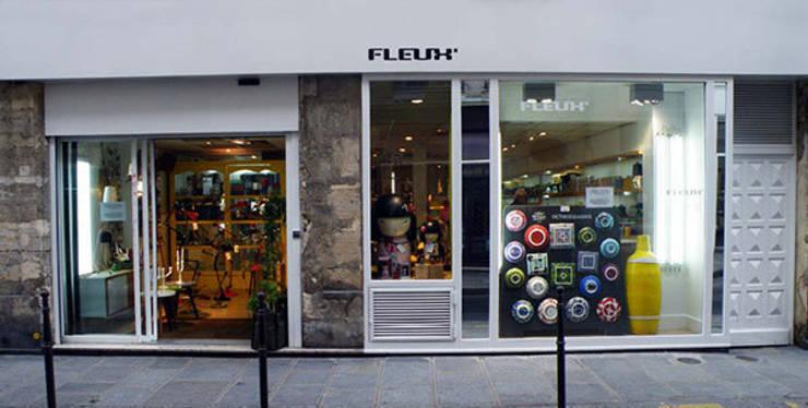 Boutiques à Paris: Locaux commerciaux & Magasins de style  par Fleux