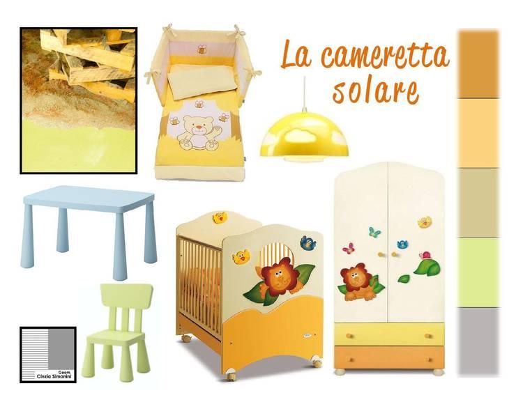 Costruire un pannello tendenza:  in stile  di Studio di Progettazione e Interior Design Cinzia Simonini