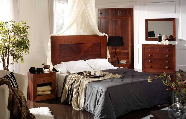 Dormitorio Moderno Albany: Dormitorios de estilo  de Paco Escrivá Muebles