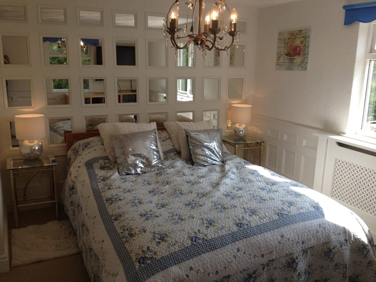 Angel Cottage, Tenby:  Walls & flooring by The UK's Leading Wall Panelling Experts Team