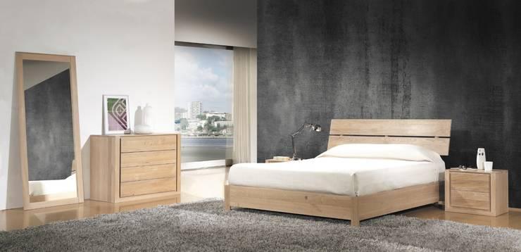Dormitorio Nórdico Forest A: Dormitorios de estilo  de Paco Escrivá Muebles