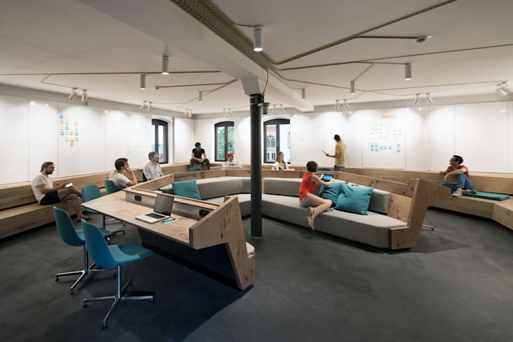 Complessi per uffici in stile  di kinzo-berlin