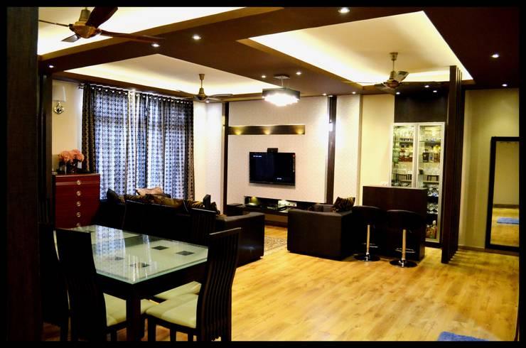 Modern Living Room: modern Living room by The KariGhars