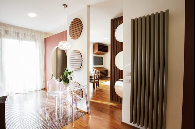 modern Dining room by STUDIO DOTT. ARCH. GIANLUCA PIGNATARO