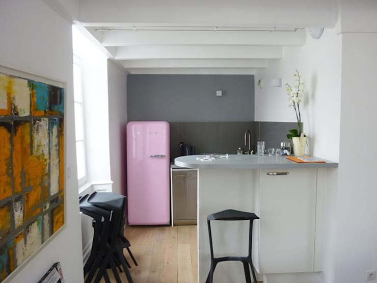 Vacances en Duplex:  de style  par Maentler Aménagement d'Espaces