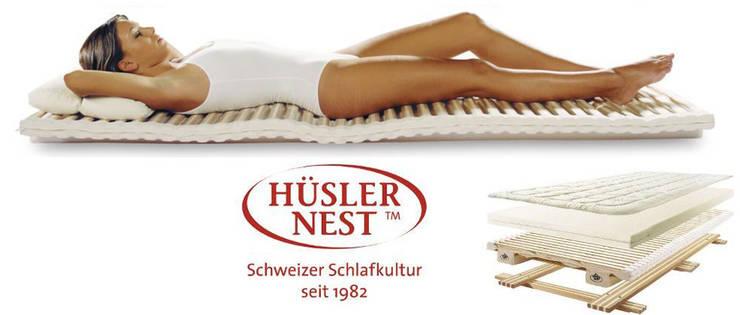 Hüsler Nest - Schweizer Schlafkultur:   von Eckhart Bald Naturmöbel,Klassisch