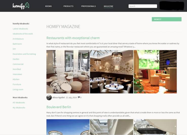 homify magazine:   by Alissa Ugolini - homify UK