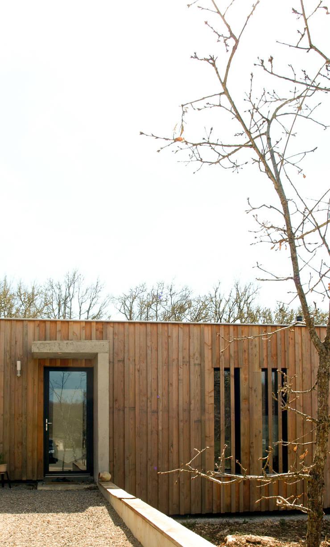 Maison P: Maisons de style de style Moderne par Yann Ouvrieux Architecte