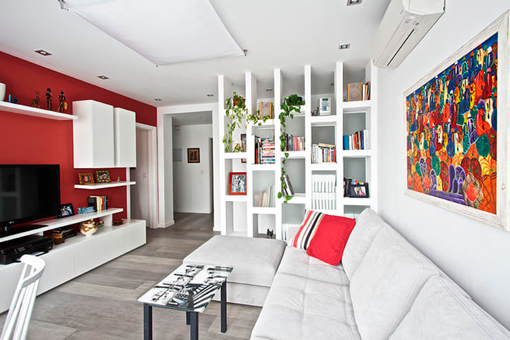Reforma de Apartamento en Madrid por Arquitectos Madrid 2.0: Estudios y despachos de estilo  de Arquitectos Madrid 2.0