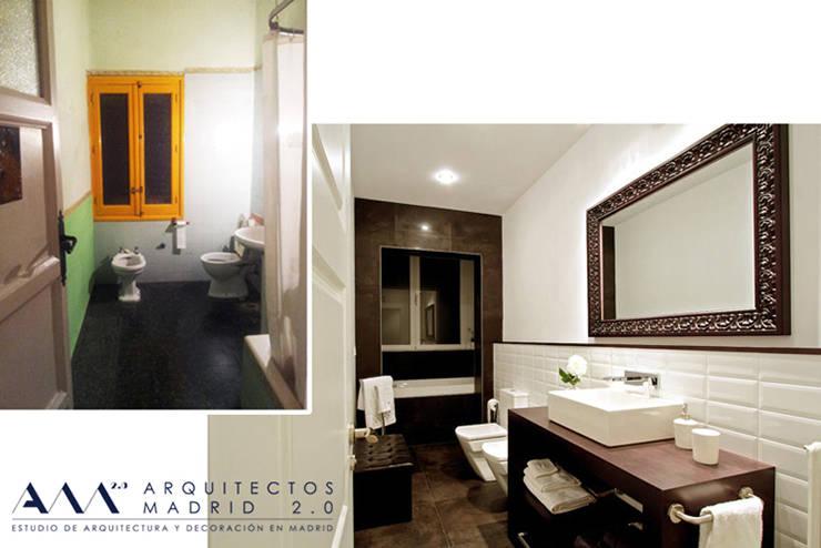 Reforma integral de Vivienda en Madrid: Casas de estilo  de Arquitectos Madrid 2.0