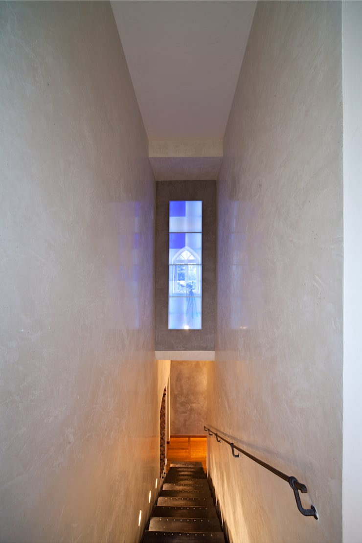 Corredores, halls e escadas mediterrânicos por Einwandfrei - innovative Malerarbeiten oHG Mediterrânico