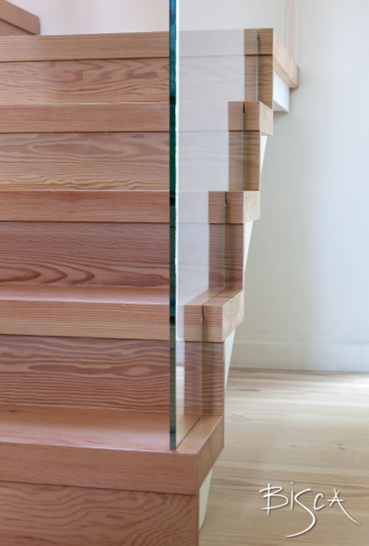 Letting in the Light:  Corridor & hallway by Bisca Staircases