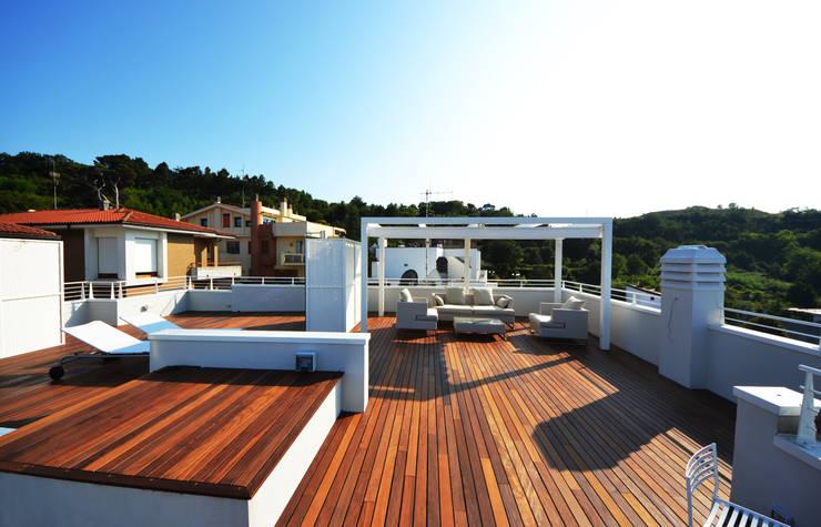 Terrace by studio architettura battistelli roccheggiani