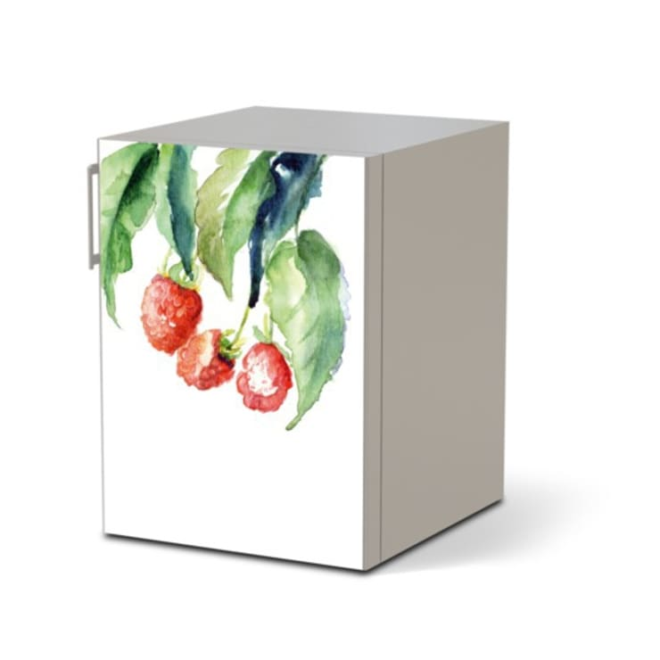 Kühlschrankfolie - Raspberries Drawing: moderne Küche von creatisto GmbH