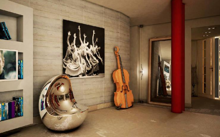 Maison Bellini:  in stile  di Maison sas, Moderno