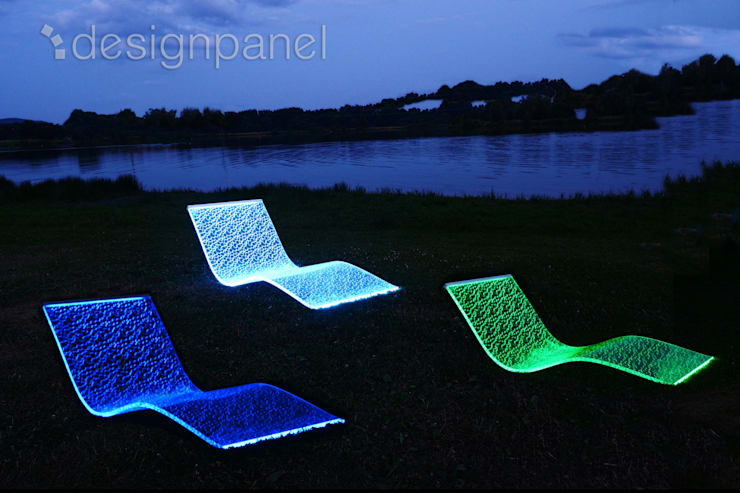 Innovatives Wellness-Produkt: die LED-Design-Liege:  Spa von Designpanel - Elements for innovative architecture