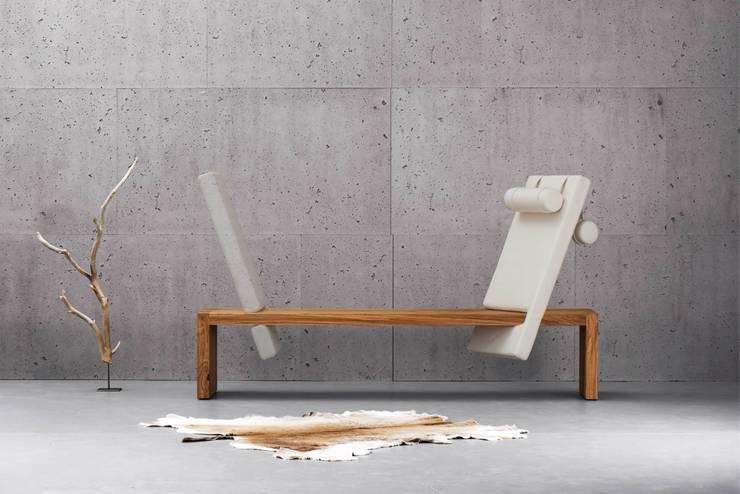 minimalistische Woonkamer door rosconi GmbH