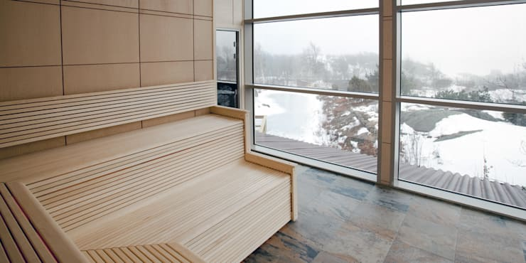 Bespoke Custom Built Saunas:  Spa by Leisurequip Limited