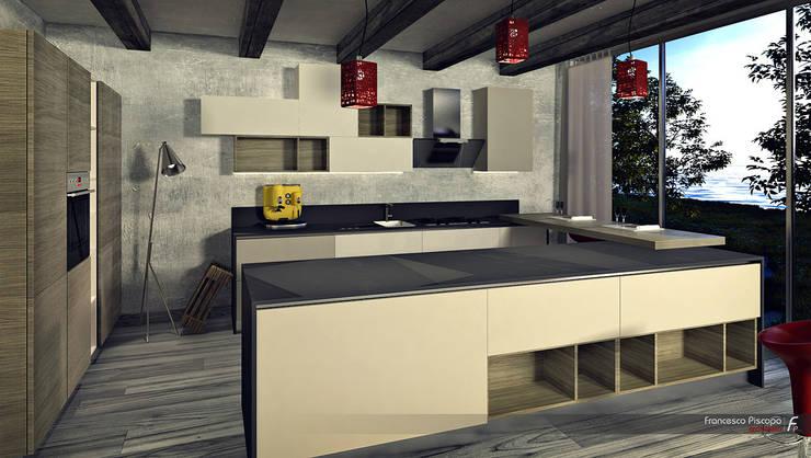 graphic design_RENDERING:  in stile  di FRANCESCO PISCOPO_architetto