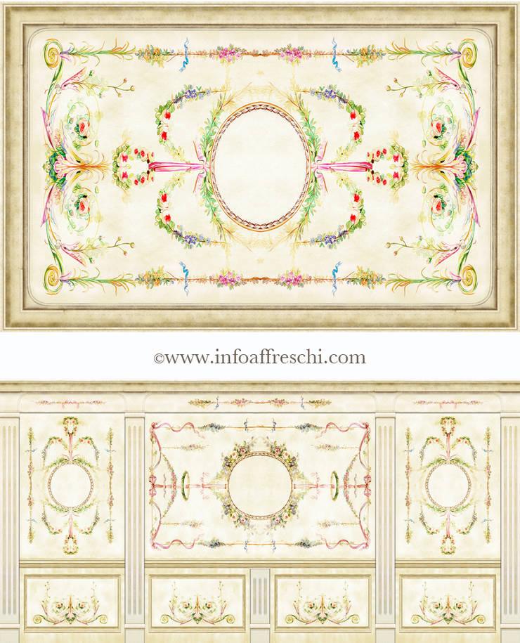 Decorazioni Modulari: Pareti & Pavimenti in stile  di Affreschi & Affreschi