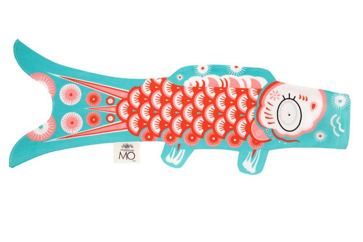 Koinobori: Chambre d'enfants de style  par Madame Mo