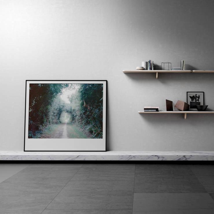 Marbrerie Retegui의  벽 & 바닥