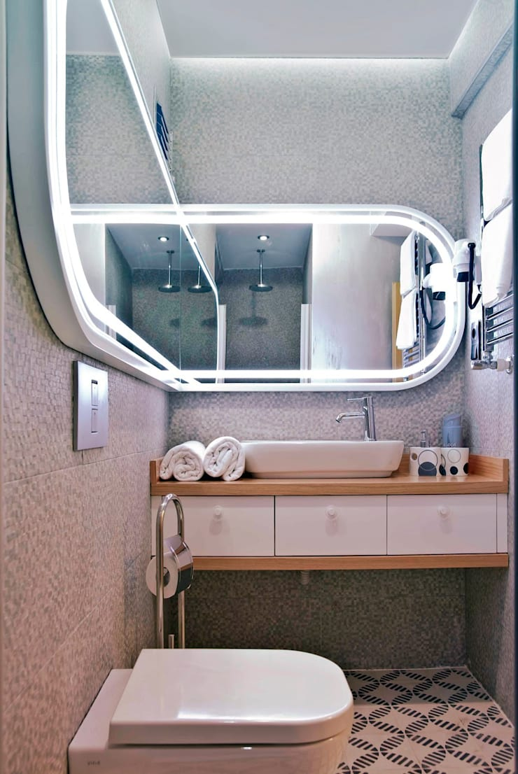 bathroom:  Hotels by AreDEKO & AreSETS