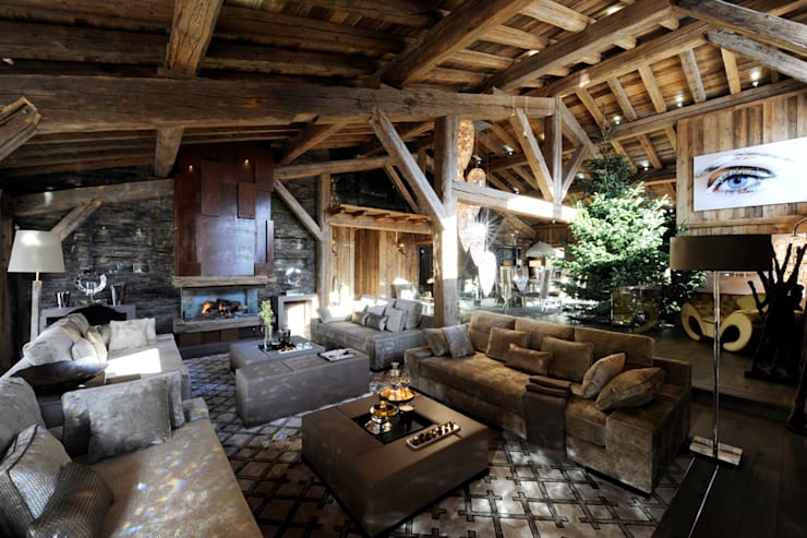 LUXURY CHALET BRICKELL - FRANCE: Case in stile  di VGnewtrend