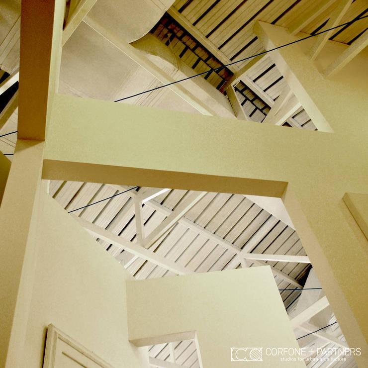 PROGETTO DANZA: Palestra in stile  di CORFONE + PARTNERS studios for urban architecture